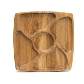 Менажница деревянная 29х29, фото