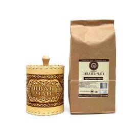 Подарочный набор туес Иван-чай D10 H12 + Иван-чай 250 г, фото