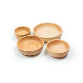 Набор деревянной посуды из кедра (прямой), фото