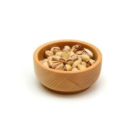 Тарелка деревянная малая D13 H5, фото