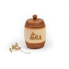 Бочонок для меда «Царский» 1,5 кг, фото