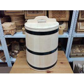 Кадка кедровая для солений 40 литров, фото