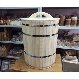 Кадка деревянная для засолки, для бани 100 л, фото