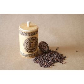Туес из бересты «Белочка» с кедровыми орехами 0,5 кг, фото