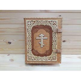 Футляр из бересты для библии + Книга, фото