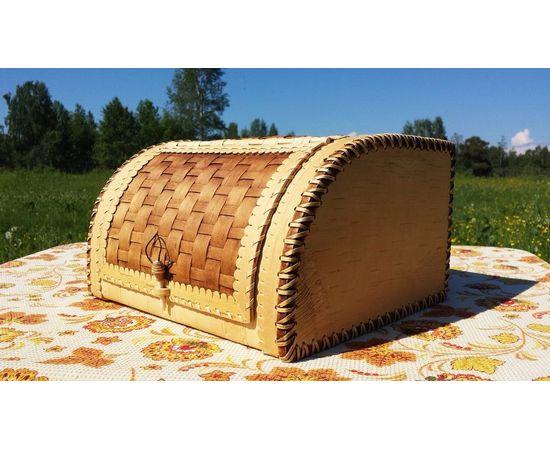 Хлебница плетеная пристенная, фото