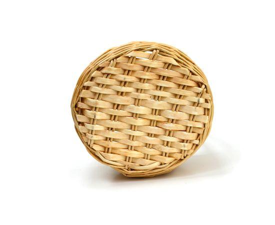 Корзина плетеная из лозы малая 2,5 л, фото , изображение 5