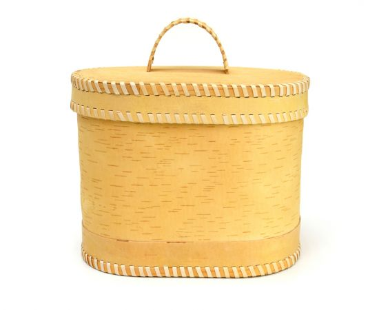 """Хлебница - короб из бересты """"Орнамент"""", фото , изображение 4"""
