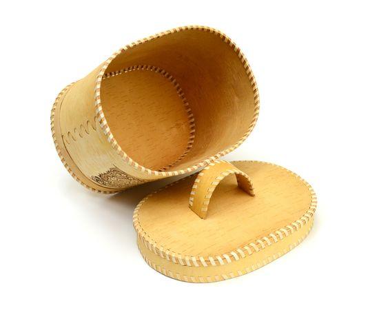 """Хлебница - короб из бересты """"Орнамент"""", фото , изображение 8"""