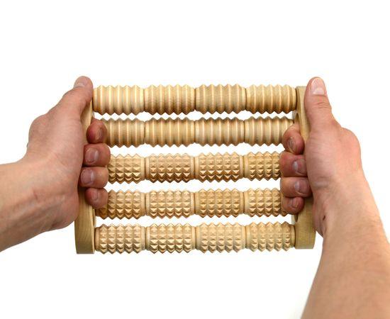 """Массажер для стоп и спины """"Счеты"""" МА4301, фото , изображение 4"""