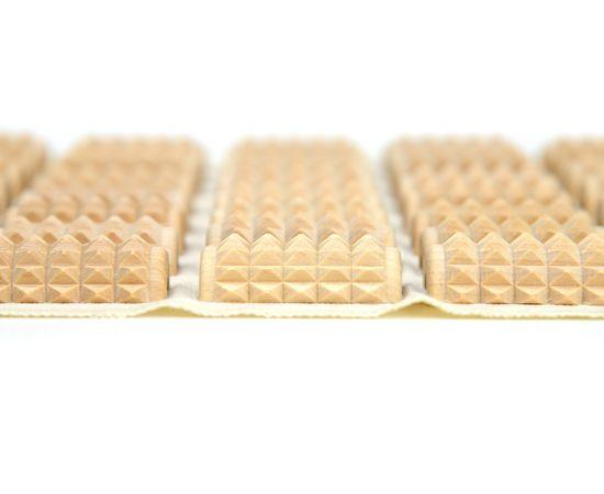 Массажный коврик для стоп КМ1102 - 34х30 см, фото , изображение 4