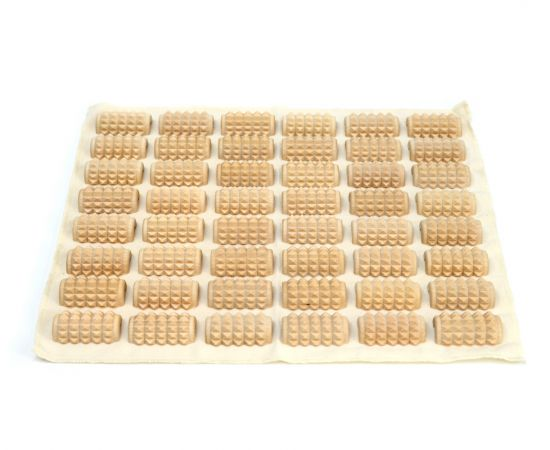 Массажный коврик для стоп КМ1102 - 34х30 см, фото
