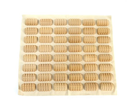 Массажный коврик для стоп КМ1102 - 34х30 см, фото , изображение 2