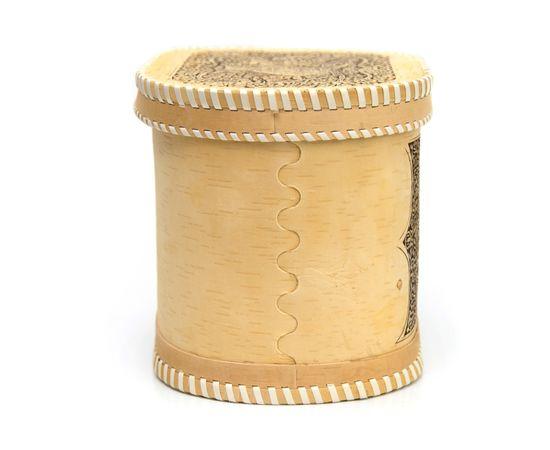 """Хлебница - короб из бересты """"Филин"""", фото , изображение 3"""