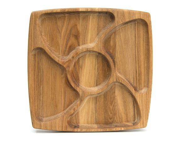 """Менажница деревянная большая """"Цветочек"""" 29х29, фото , изображение 5"""