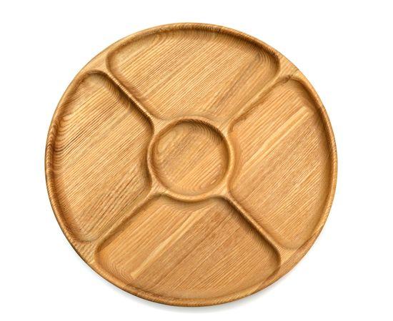 Менажница деревянная круглая D29, фото , изображение 9