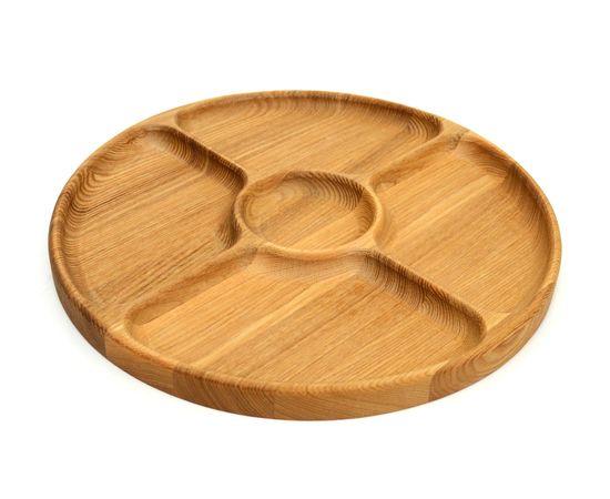 Менажница деревянная круглая D29, фото , изображение 8