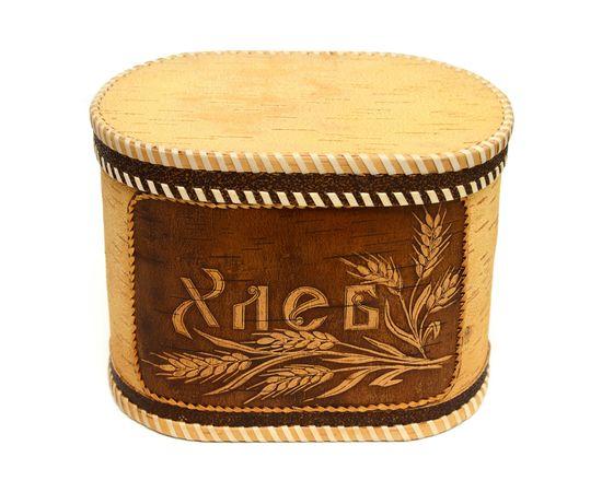 """Хлебница - короб из бересты """"Хлеб"""", фото , изображение 2"""