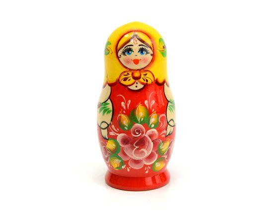 Матрёшка малая «Роза» 5 кукол, фото