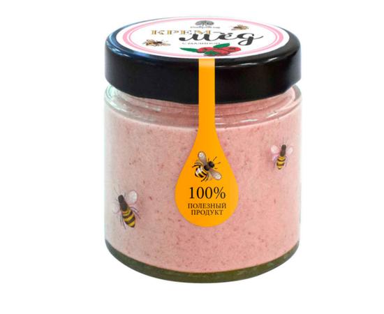 Крем - мед с малиной 200 г, фото