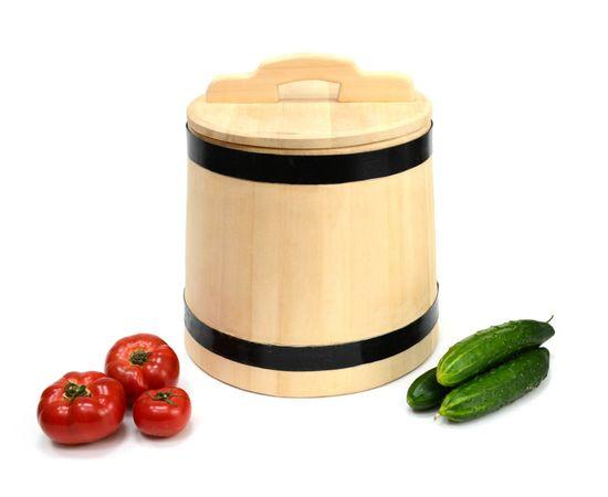 Кадка деревянная из кедра для засолки 15 литров, фото