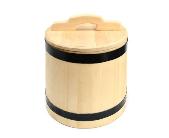 Кадка деревянная из кедра для засолки 15 литров, фото , изображение 3
