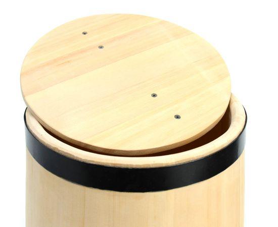 Кадка деревянная из кедра для засолки 15 литров, фото , изображение 5