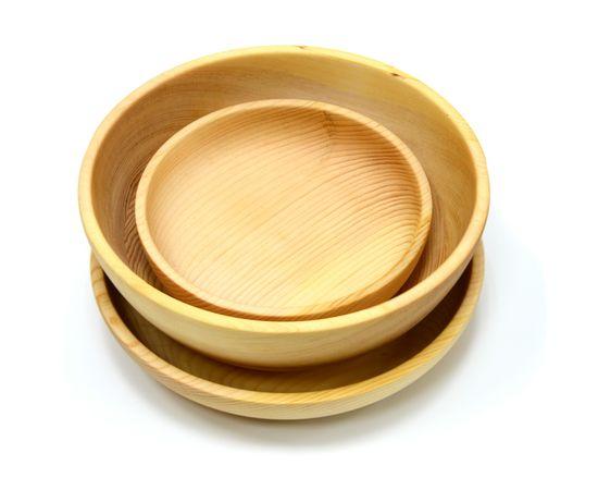 Набор посуды из кедра «Большой», фото , изображение 4