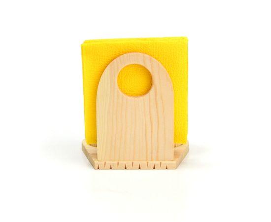 Набор из кедра для специй с салфетницей, фото , изображение 3