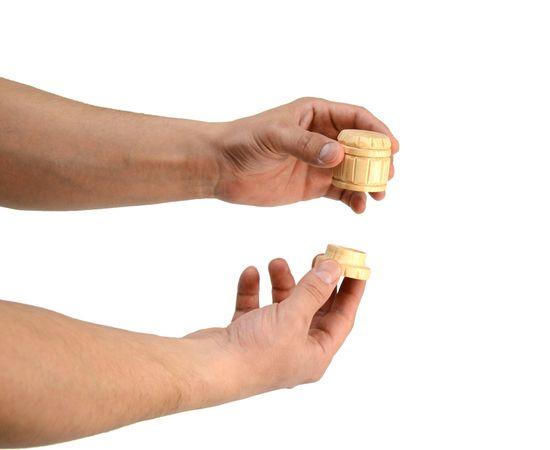 Набор из кедра для специй с салфетницей, фото , изображение 4