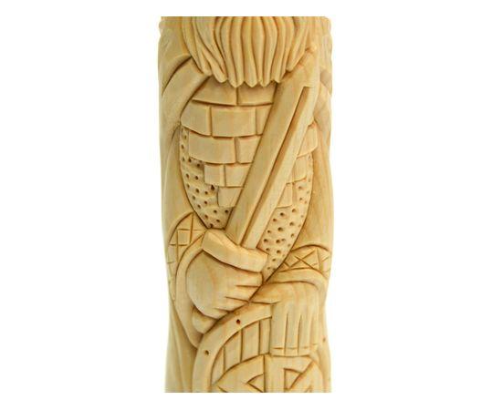 Статуэтка из кедра Бог Перун. Кумир Перуна с мечом, фото , изображение 4