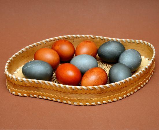 """Блюдо из бересты """"Листочек"""", фото , изображение 5"""