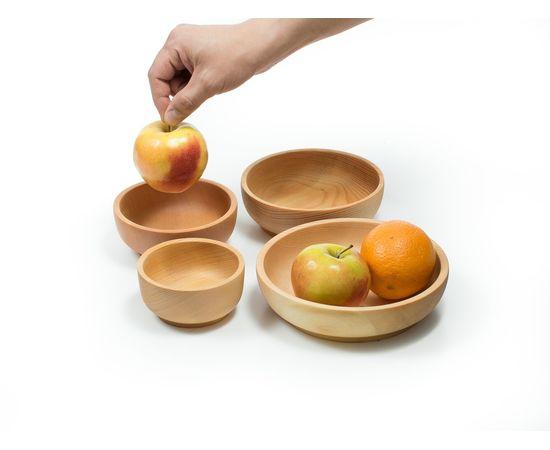 Набор деревянной посуды из кедра (прямой), фото , изображение 6