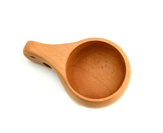 Кружка деревянная Кукса №3. Финская кружка, фото , изображение 4