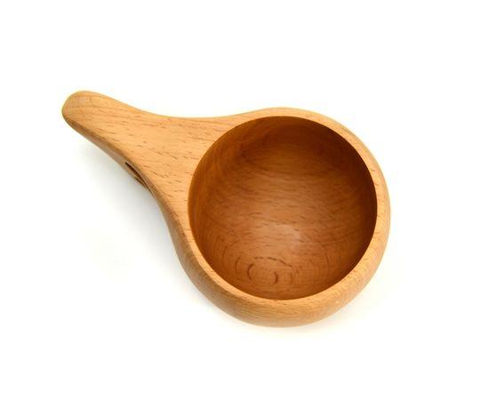 Кружка деревянная Кукса №1. Финская кружка, фото , изображение 4