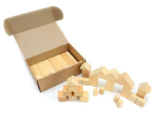 Конструктор деревянный. Большой набор, фото