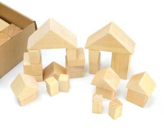 Конструктор деревянный. Маленький набор, фото