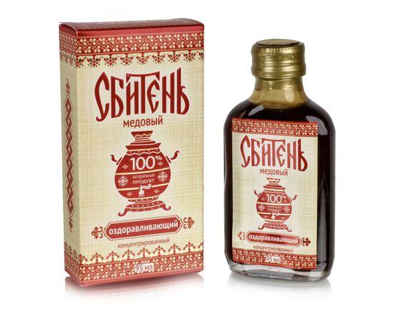 """Сбитень безалкогольный """"Медовый"""" 95 мл, фото"""