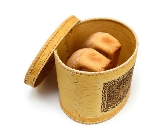 """Хлебница из бересты большая """"Медведи"""", фото , изображение 7"""