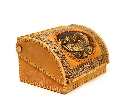 """Хлебница из бересты на 1 булку """"Орлан"""", фото , изображение 2"""