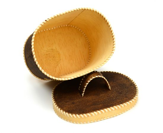 """Хлебница - короб из бересты с ручкой """"Белка с шишкой"""", фото , изображение 4"""