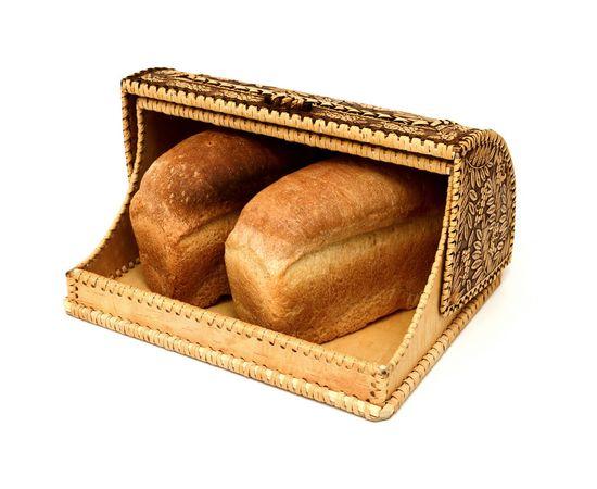 """Хлебница из бересты """"Птицы в рябине"""", фото , изображение 5"""