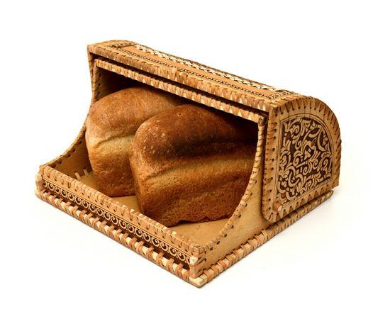 """Хлебница из бересты """"Орнамент"""", фото , изображение 4"""