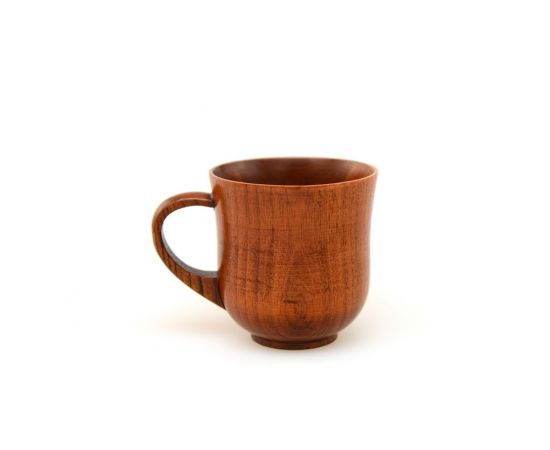 Кружка / чашка деревянная 210 мл, фото