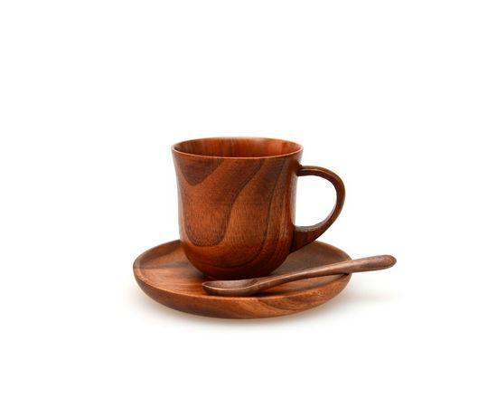 Кружка / чашка деревянная 210 мл, фото , изображение 3