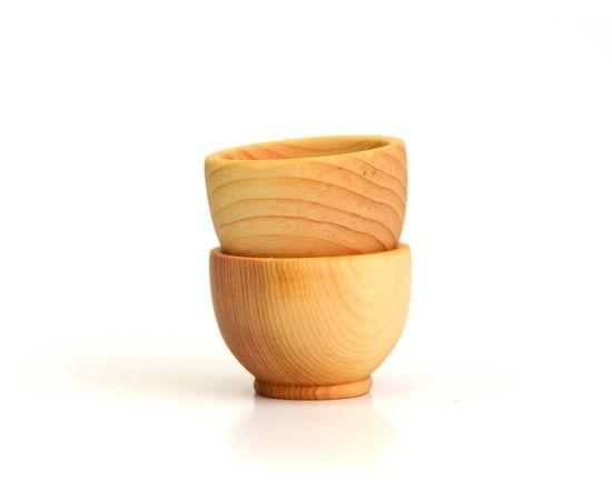 Соусник, соусница, солонка деревянная D6, фото , изображение 3