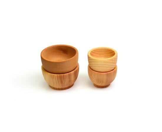 Соусник, соусница, солонка деревянная D6, фото , изображение 4