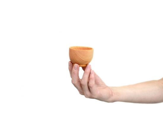Соусник, соусница, солонка деревянная D6, фото