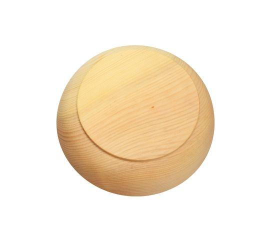 Тарелка деревянная большая D18,5 H5, фото , изображение 3