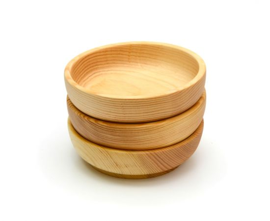 Тарелка деревянная большая D18,5 H5, фото , изображение 5
